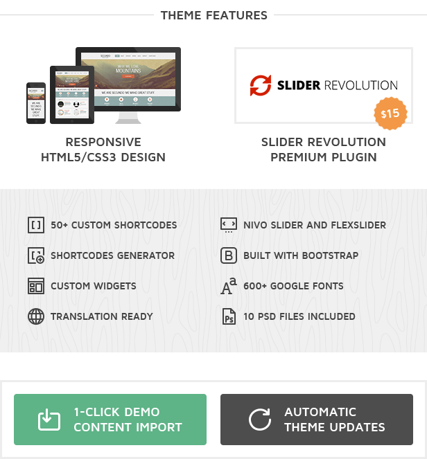 Secundo  WordPress Theme